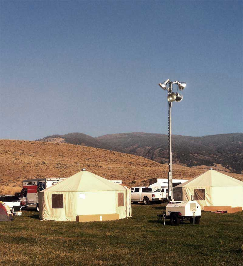 Wanco Portable Light Tower: Fire & Disaster Support