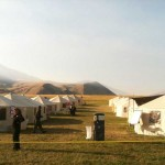 Base Camp with Mixed Tent Sizes