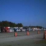 Trucks Staged At Herlong Airport