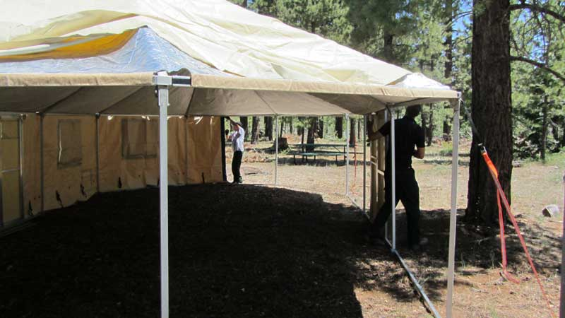 ... Western Shelter Tent Sets Up Easily and Quickly & Western Shelter 1935 Tent | Crewzers | Base Camp Support Services