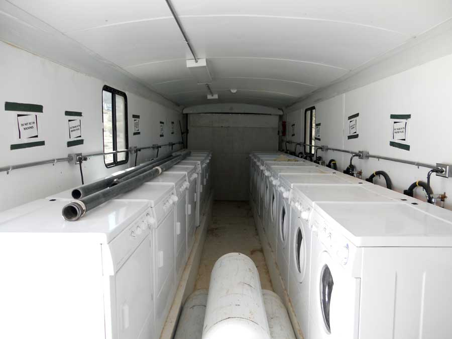 Mobile Laundry Trailers Portable Laundry Trailers Crewzers